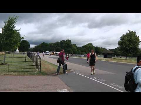 Hyde Park London Run