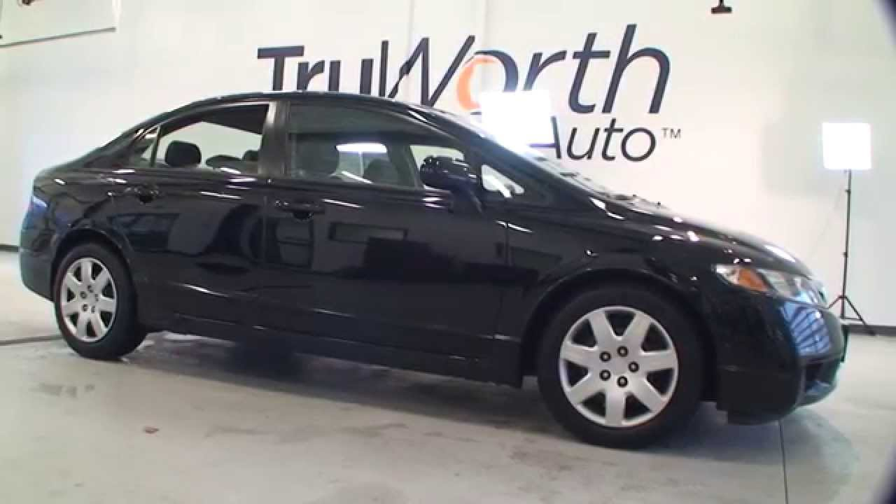 2009 Honda Civic Lx 36 Highway Mpg Aux Input Cruise Control Truworth Auto You