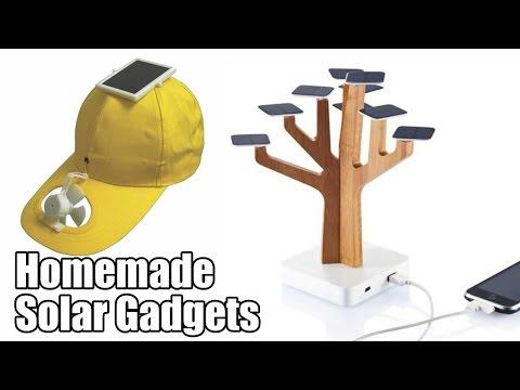 Homemade Solar Gadgets - Life Hacks