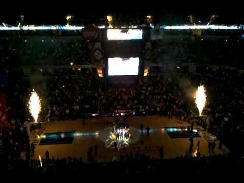 Pacers Home Opener 2010-11