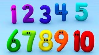 ♕ Развивающее видео про цифры для детей Считаем от 0 до 9 Принцесса Диана Princess Diana