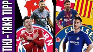 BL nyolcaddöntők: Bayern München vs. Besiktas / Chelsea vs. Barcelona | Tiki-Taka Tipp