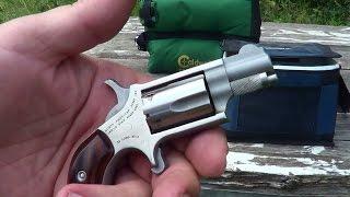 loading unloading the naa 22lr mini revolver