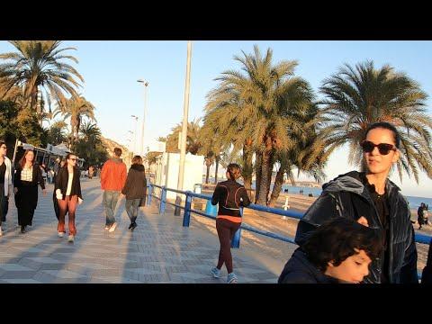 Alicante Spain 🇪🇸beach Walk 2020