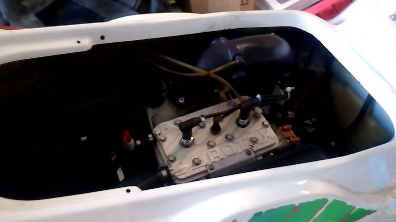 Seadoo 93 XP 657X Engine