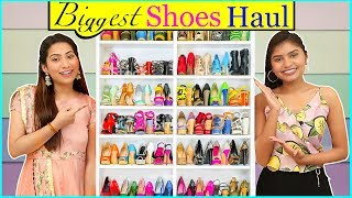 Biggest SHOE Haul | DIYQueen