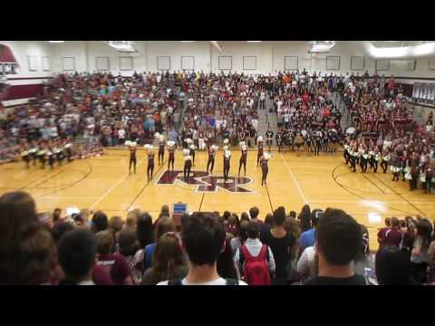 Round Rock Dragonettes Class Performance Pep Rally 2016