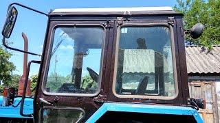 Bu Byelorussian Ta'mirlash 82. Sifatida otib peening, bo'yash traktor h 1 ##YUMZ MTZ