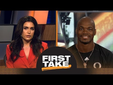 Adrian Peterson talks Le'Veon Bell, Saquon Barkley and Kirk Cousins   First Take   ESPN