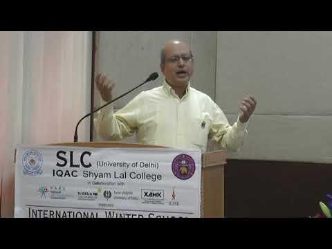 SLC (University of Delhi), International Winter School, Part-B(1/3) 3rd March,2018