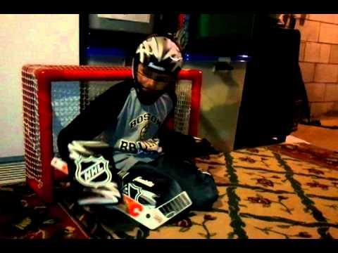 Knee Hockey Goalie Youtube
