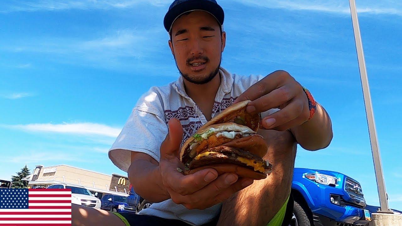 미국 패스트푸드 1달러 짜리 메뉴 먹방 & 3,500km 로드트립 - 세계여행 미국 ?? [94]