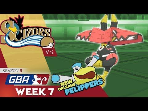 "GBA S8W7 Philadelphia Scizors vs  New Orleans Pelippers ""BULU BAO"""