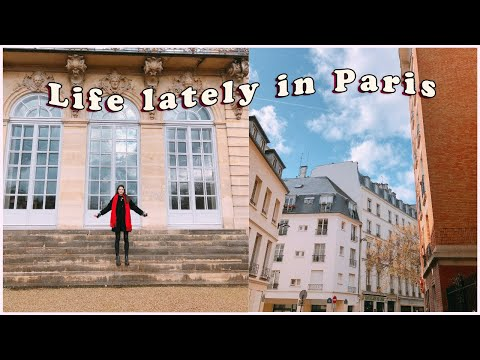 life lately in paris, france vlog ☁️ | blood test, project works, friends, walking around & etc.