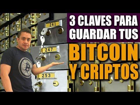 3 Claves Al GUARDAR Bitcoin Y Criptomonedas 2019 / Semillas Y Llaves