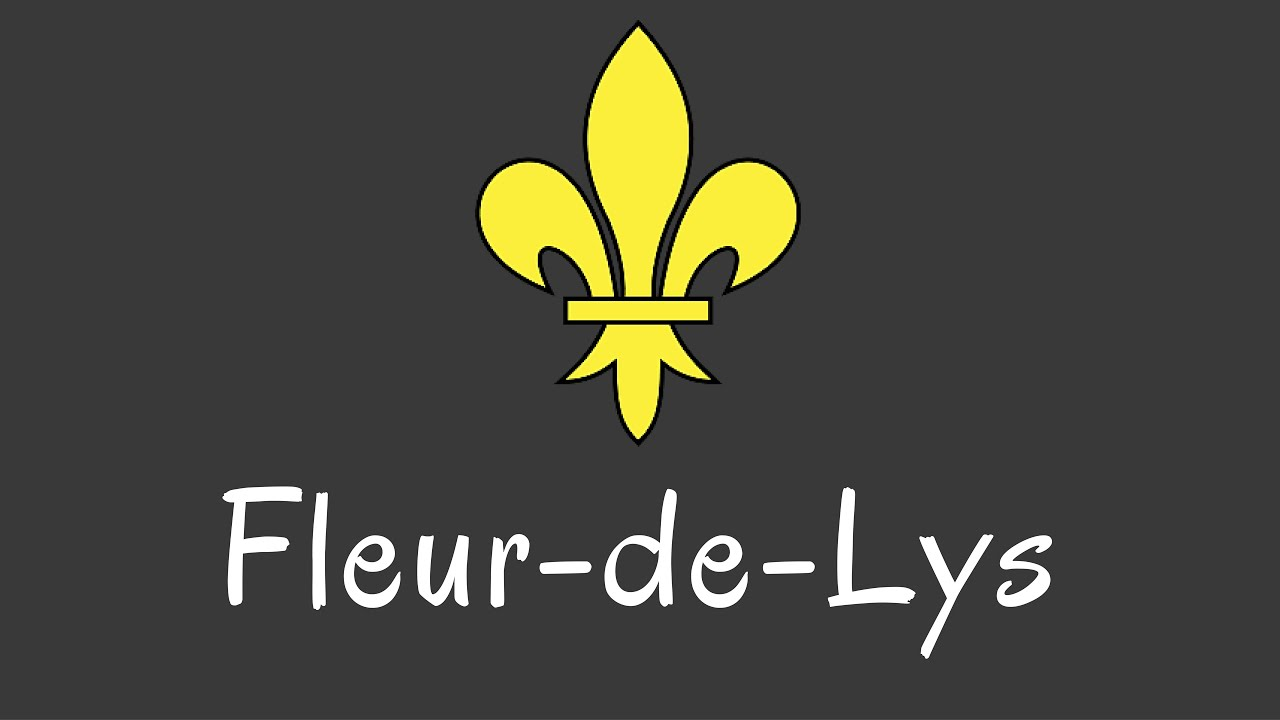 What Is The French Fleur De Lys Or Fleur De Lis And What Does It