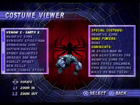 What are the cheats to Spider-Man?