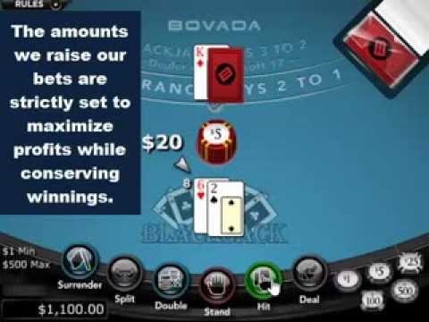 Easy Money Blackjack System Wins $500 in 8 Minutes!