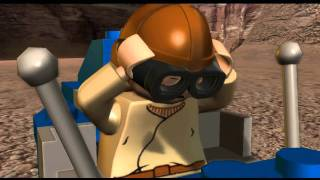 Let's Play Lego Star Wars: The Complete Saga - Bonus Room 1 - Pod Race LSW 1