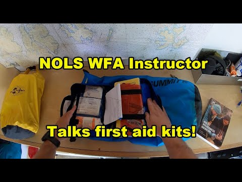 NOLS Wilderness First Aid Instructor Explains How To Do First Aid Kits