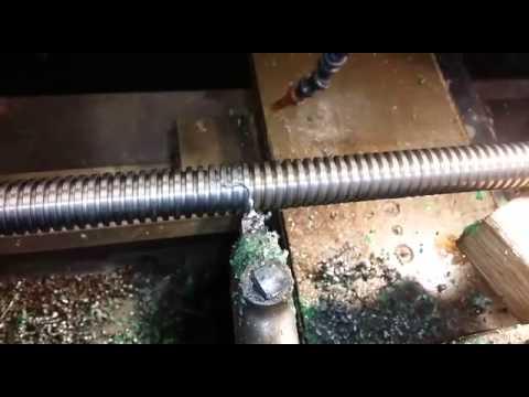 Left Hand Acme Thread 5mm Pitch Lathe Engineering Youtube