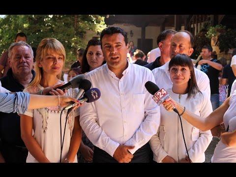 Заев: Верувам дека на 31 август ќе објавиме дека изборит...