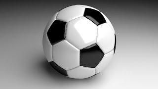 Моделирование футбольного мяча в Blender