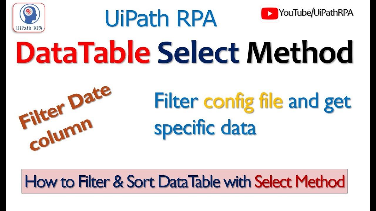 Update column in datatable uipath