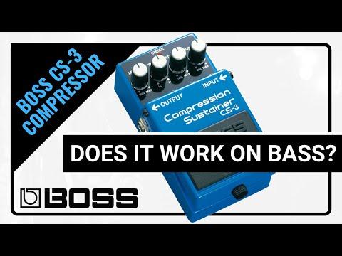 Boss CS-3 (Ultra-Bass Smasher) // Demo & Review