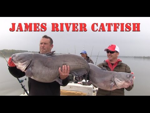 James River Catfish Fishing