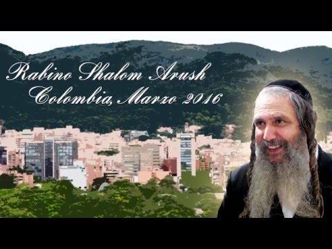 El Rabino Shalom Arush en Bogotá - Colombia 2016 | Traducido por Rab Yonatán D. Galed