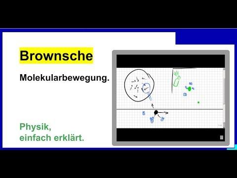 Brownsche Molekularbewegung, Physik - YouTube  Brownsche Molek...