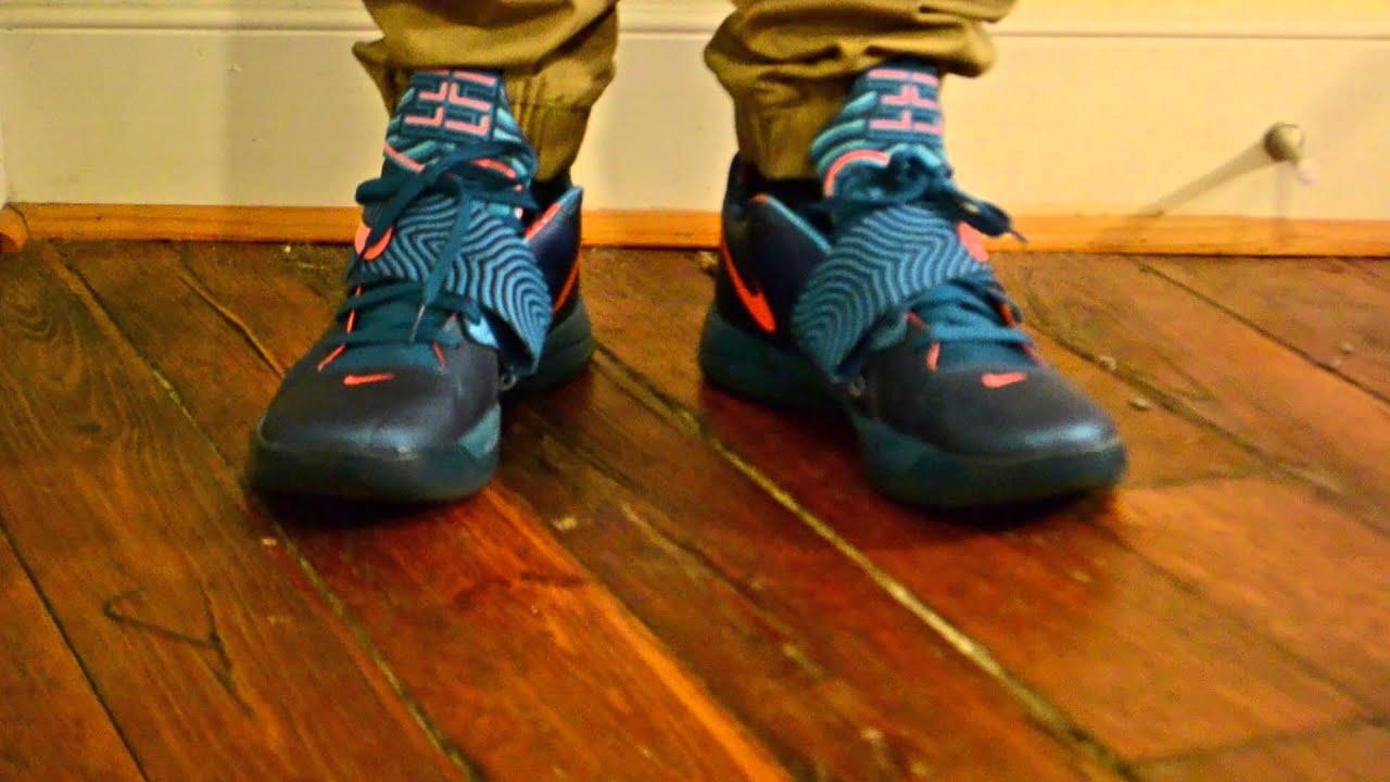 #TBT Nike KD IV Year of the Dragon (YOTD) On Feet - YouTubeKd 4 On Feet