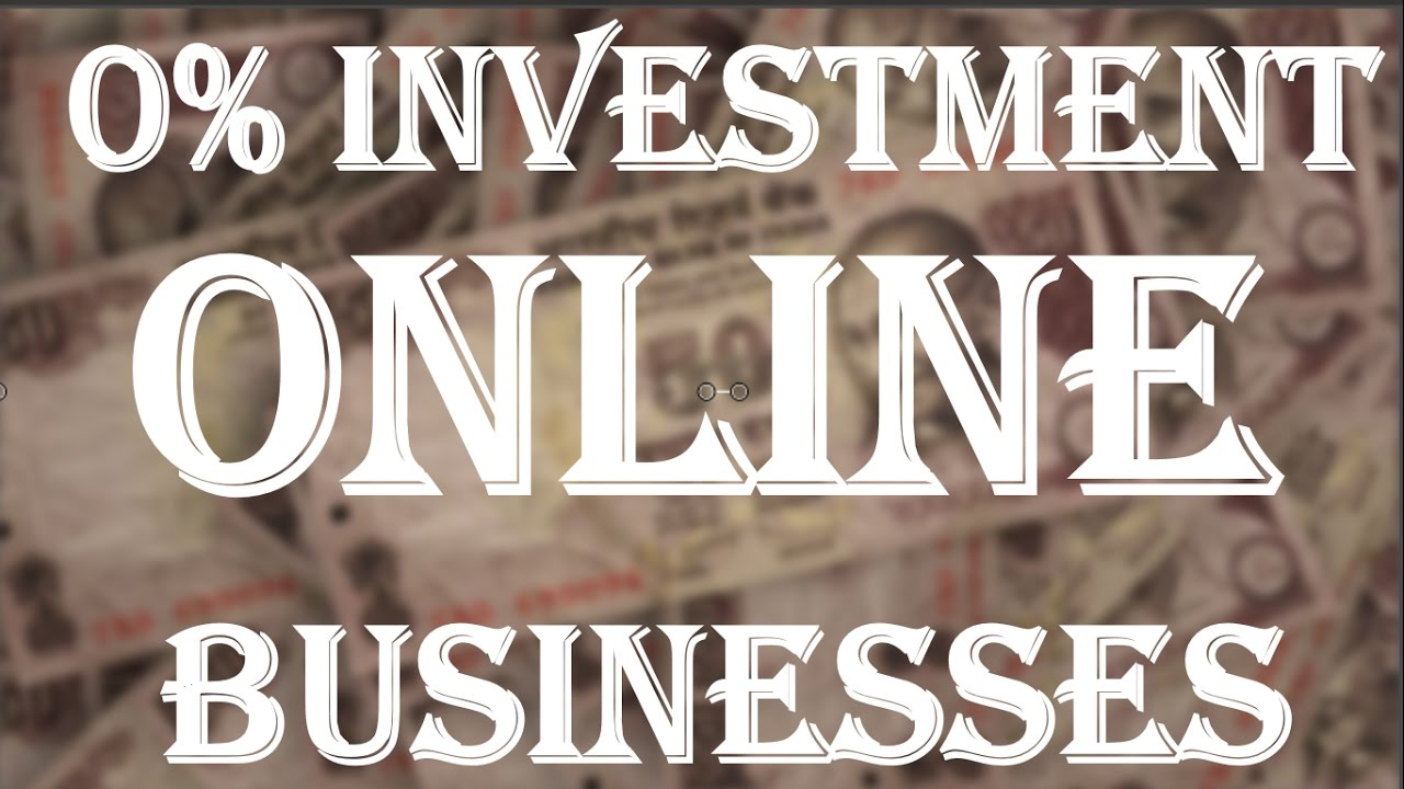 {HINDI}  0% investment online businesses in india || Start An Online Business Without Investment
