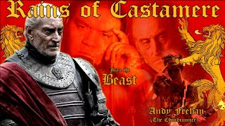 Repeat youtube video The Rains of Castamere (GOT-Metal Edition) Ft/ The CloudRunner