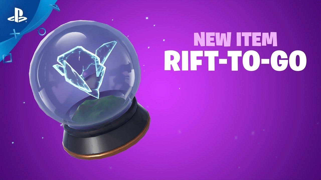 Fortnite - New Item: Rift-to-Go | PS4