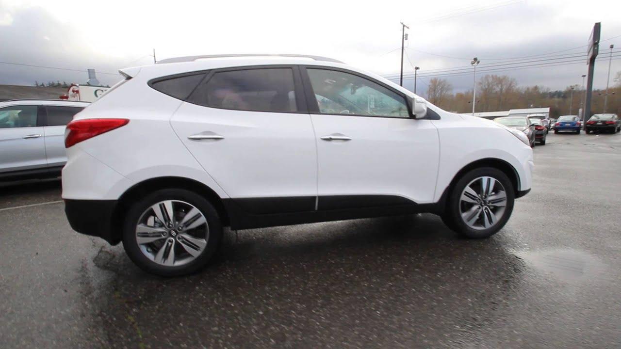 2015 Hyundai Tucson White Fu999899 Skagit County