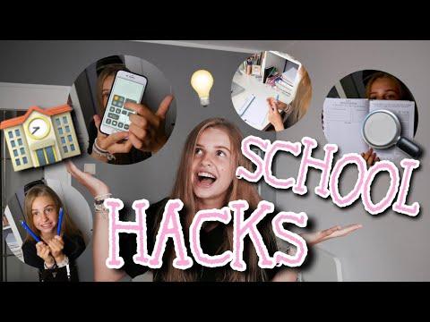 BACK TO SCHOOL LIFEHACKS💡 MUSISZ JE ZNAĆ!