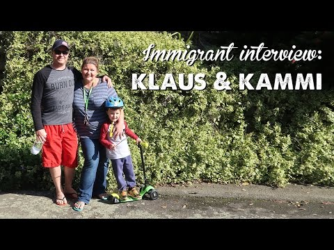 Immigrant Interview: Klaus & Kammi | A Thousand Words