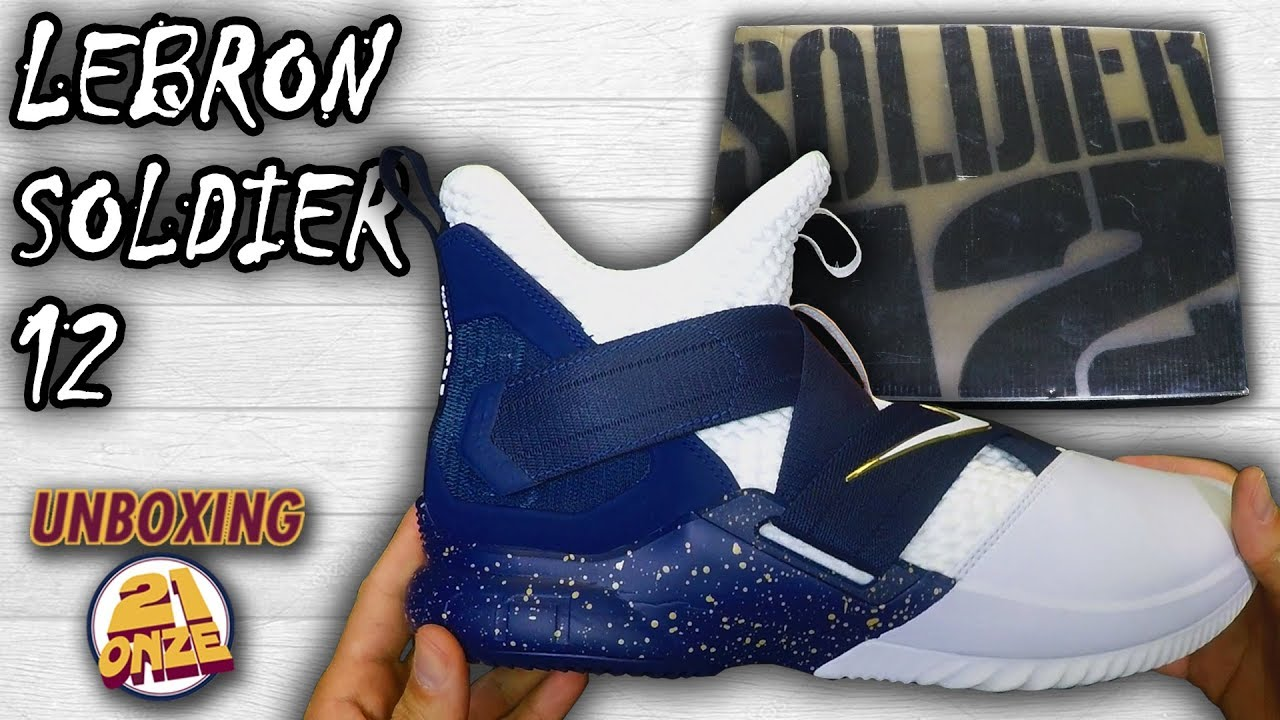 f73338d82694e Unboxing LEBRON SOLDIER XII SFG - YouTube