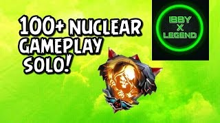 bo3 nuclear 100 kills gameplay w op kn 44 class solo
