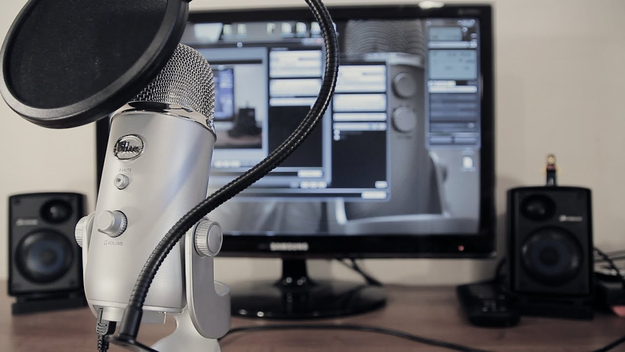 Blue Yeti Microphone Full Review Amp Sound Test 1080p Hd