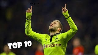 Jakub Błaszczykowski - TOP 10 Najpiękniejszych Bramek w Karierze ᴴᴰ