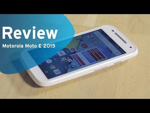 Motorola Moto E 2015 review (Dutch)