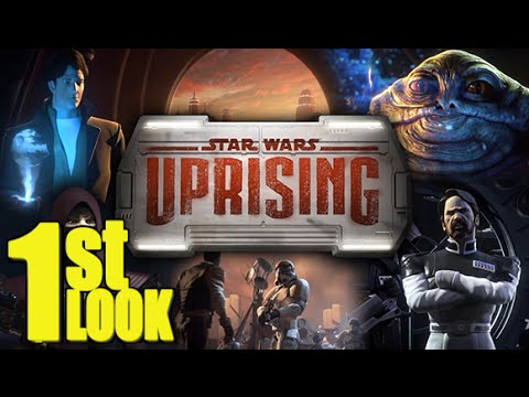 Star Wars Uprising - Another great Mobile RPG by Kabam (1st Look iOS Gameplay)