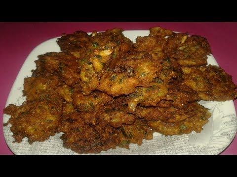 Crispy Chicken Keema Pakora Recipe