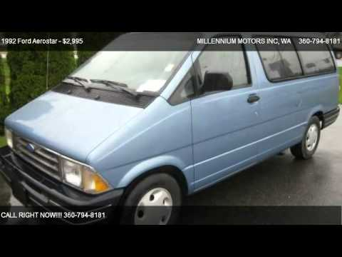 1992 Ford Aerostar XL Extended