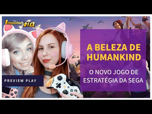 Vendo pela primeira vez Humankind e o Mamute Pet