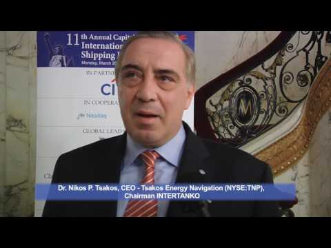 11th Annual Capital Link International Shipping Forum - Dr. Nikos P. Tsakos Interview