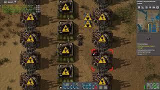 Factorio 0.16 Odcinek #32  - MEGA FAIL, Pierwsza satelita wystrzelona oraz SPACEX